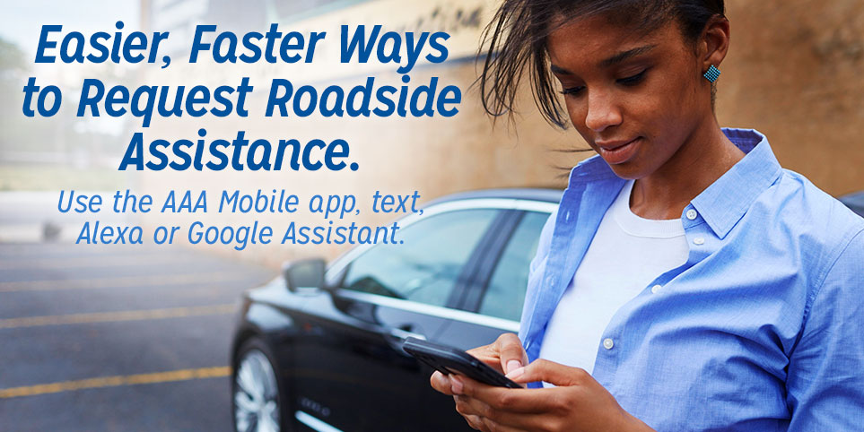 Easier, Faster Ways to Request Roadside Assistance
