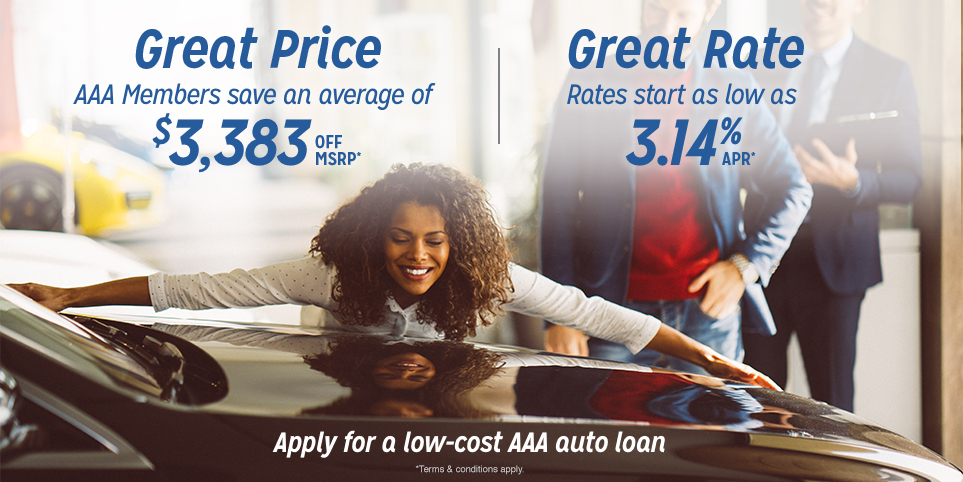 Get a low-cost auto loan through AAA
