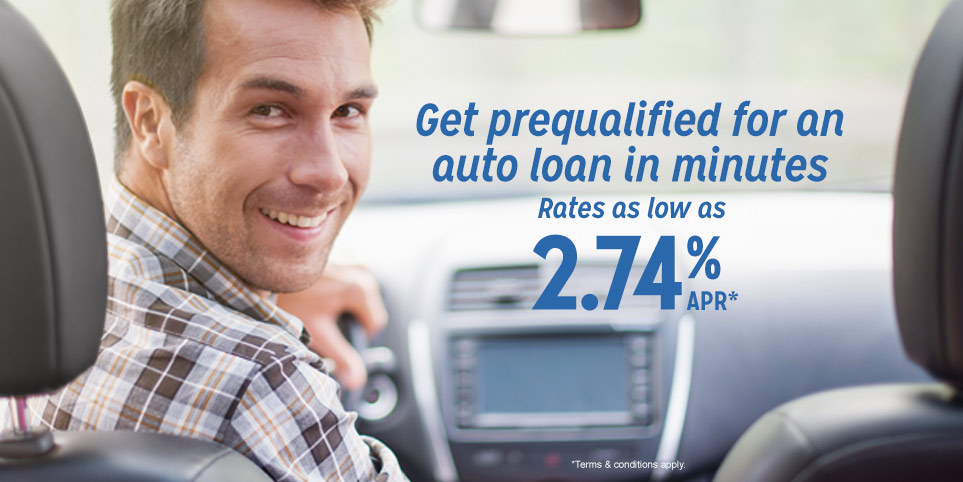 Get pre-approved for an auto loan in 15 minutes