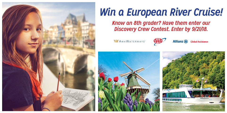 Win a European River Cruise