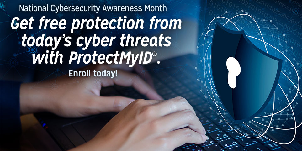 Protect My ID Cybersecurity Awareness Month